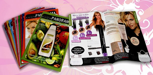 Avon Magazine Design